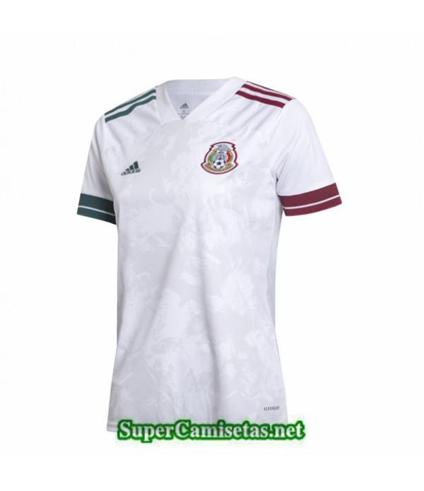 Tailandia Equipacion Camiseta México Blanco Mujer 2020/21