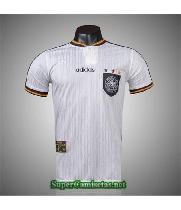 Tailandia Primera Camisetas Clasicas Alemania Hombre 1996