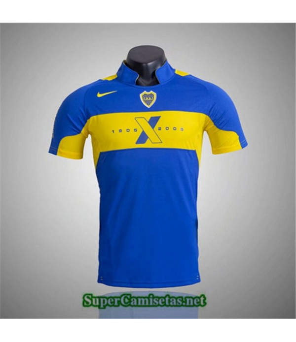Tailandia Primera Camisetas Clasicas Boca Juniors Hombre 2005