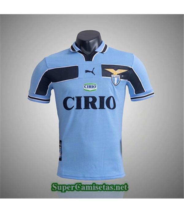 Tailandia Primera Camisetas Clasicas Lazio Hombre 1999 00