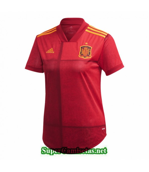 Tailandia Primera Equipacion Camiseta España Mujer Euro 2020/21
