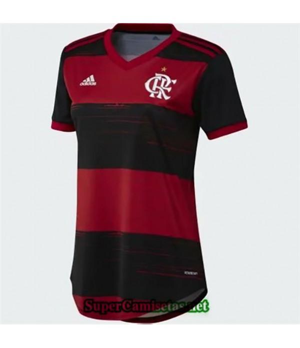 Tailandia Primera Equipacion Camiseta Flamengo Mujer 2020/21