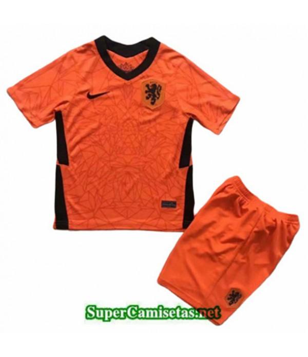 Tailandia Primera Equipacion Camiseta Países Bajos Niños Euro 2020/21
