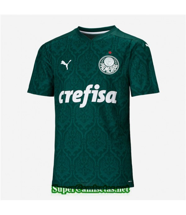 Tailandia Primera Equipacion Camiseta Palmeiras Verde 2020/21