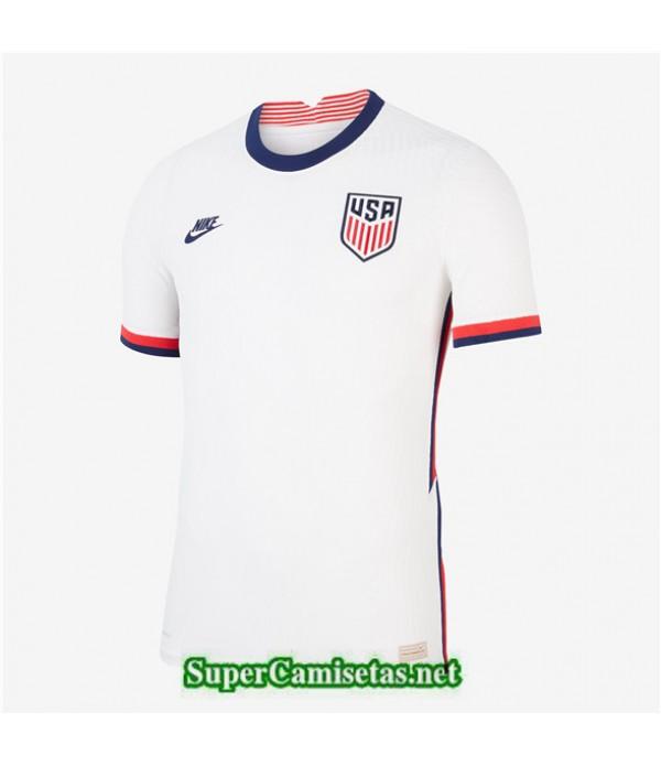 Tailandia Primera Equipacion Camiseta Usa Blanco 2020/21