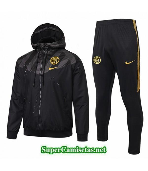Tailandia Rompevientos Inter Milan 03s29 Negro/amarillo 2019/20