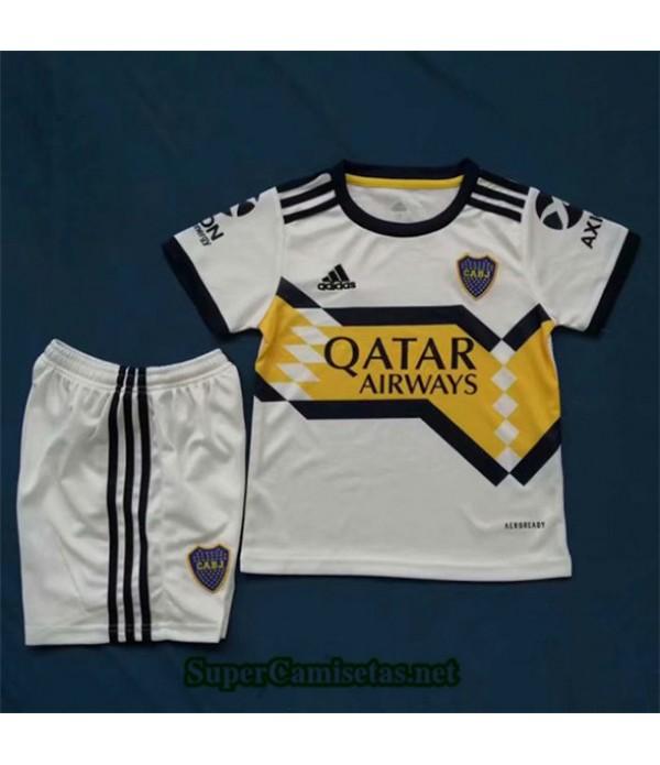 Tailandia Segunda Equipacion Camiseta Boca Juniors Niños 2020/21