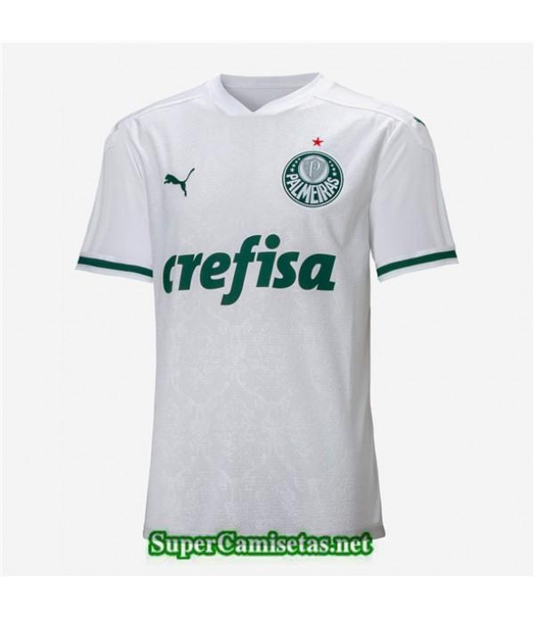 Tailandia Segunda Equipacion Camiseta Palmeiras Blanco 2020/21