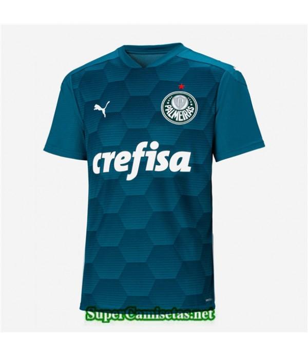 Tailandia Segunda Equipacion Camiseta Palmeiras Portero Verde 2020/21
