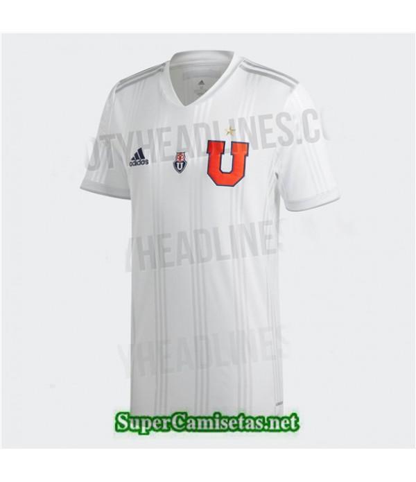 Tailandia Segunda Equipacion Camiseta Universidad De Chile Blanco 2020/21