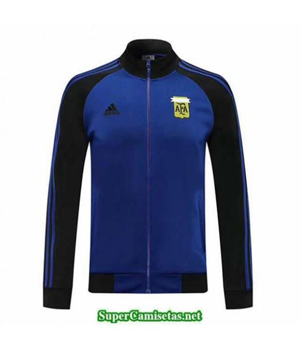 Tailandia Camiseta Argentina Chaqueta Azul/negro 2020/21