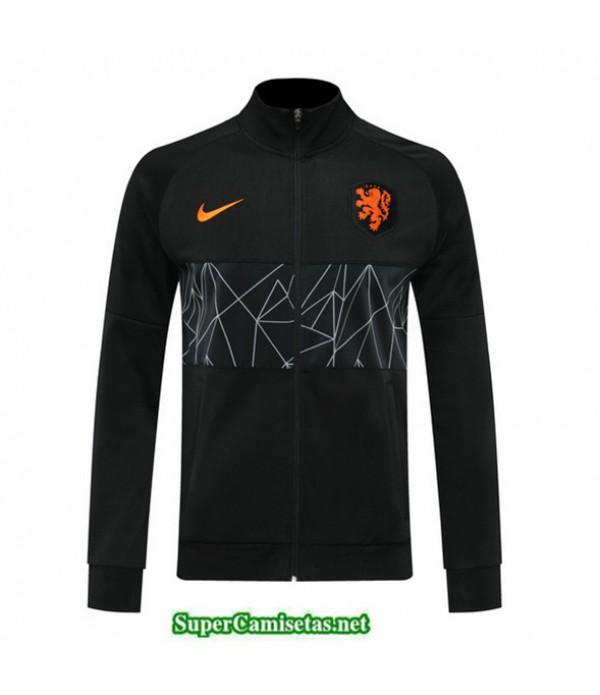 Tailandia Camiseta Países Bajos Chaqueta Negro 2020/21