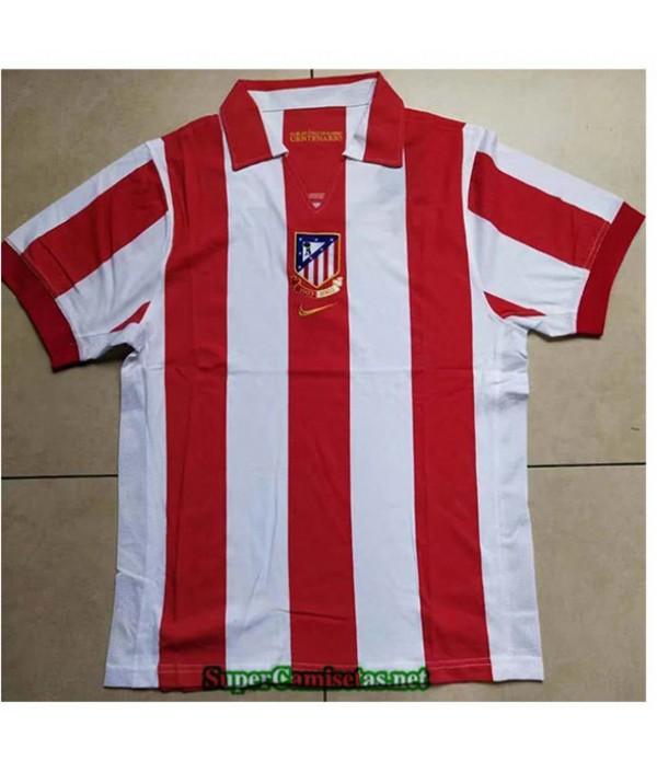 Tailandia Camisetas Clasicas Atletico De Madrid Edición Centenaria Hombre 1903 2003