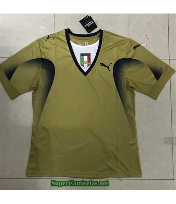 Tailandia Camisetas Clasicas Italia O Portero Hombre 2006