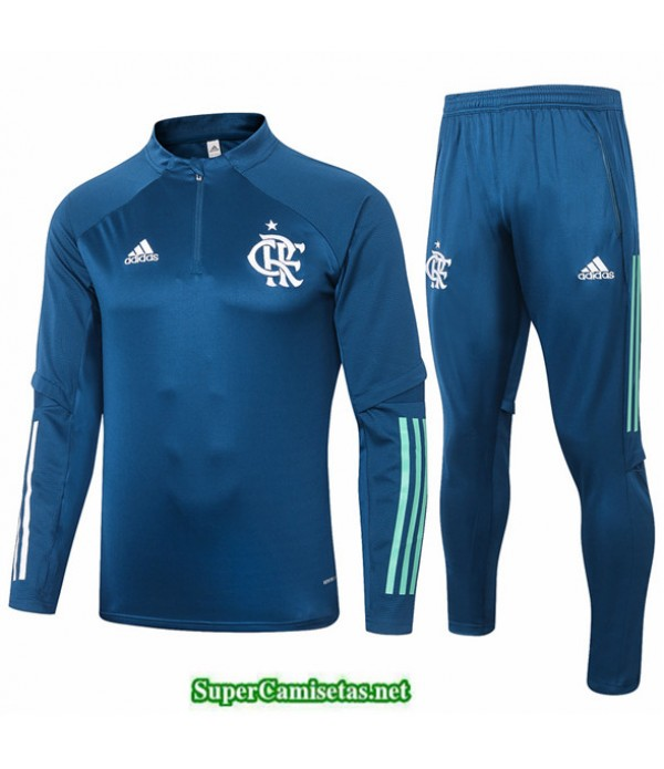Tailandia Chandal Flamengo Azul Marino 2020/21