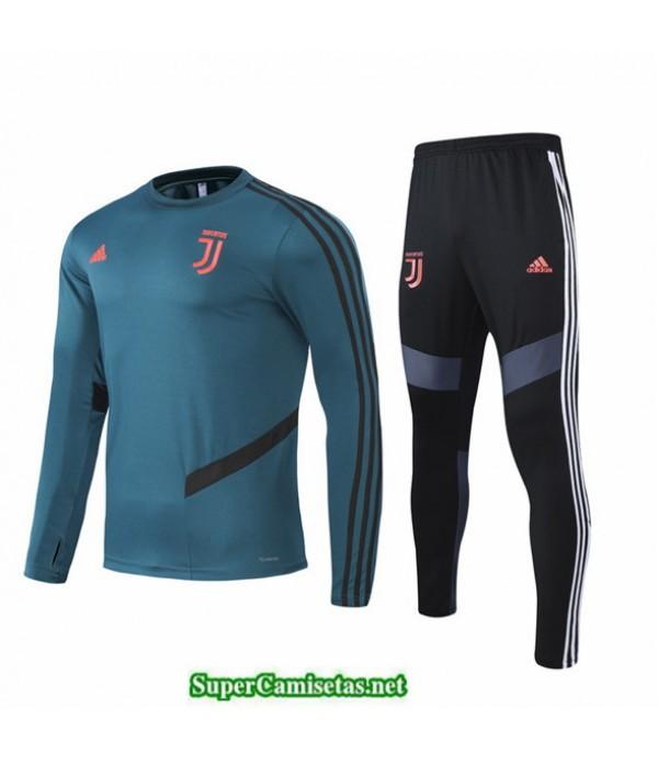 Tailandia Chandal Juventus Niños Verde Oscuro 2020/21 Col Rond
