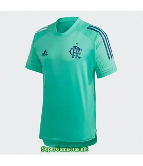 Tailandia Entrenamiento Equipacion Camiseta Flamengo Verde 2020/21
