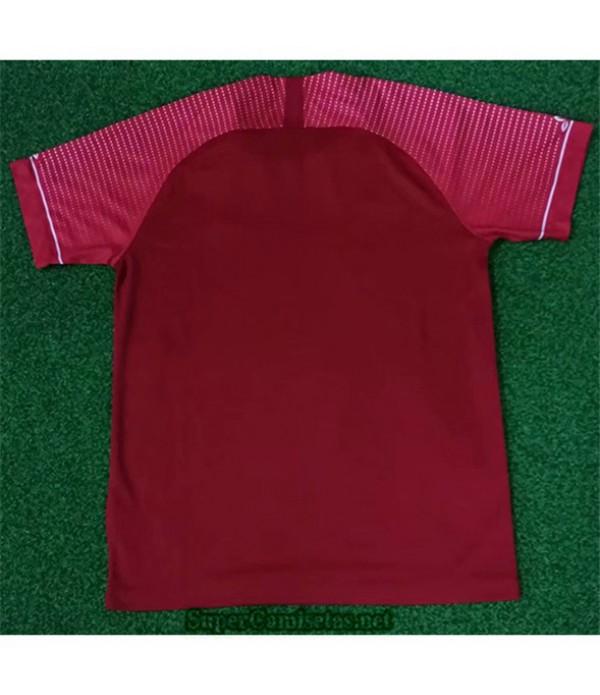 Tailandia Equipacion Camiseta Liverpool Rojo 2020/21