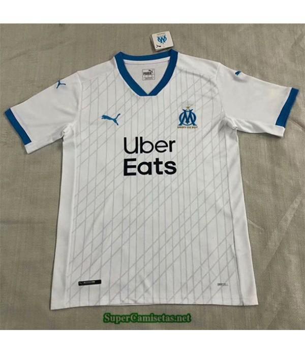 Tailandia Equipacion Camiseta Marsella Blanco 2020/21