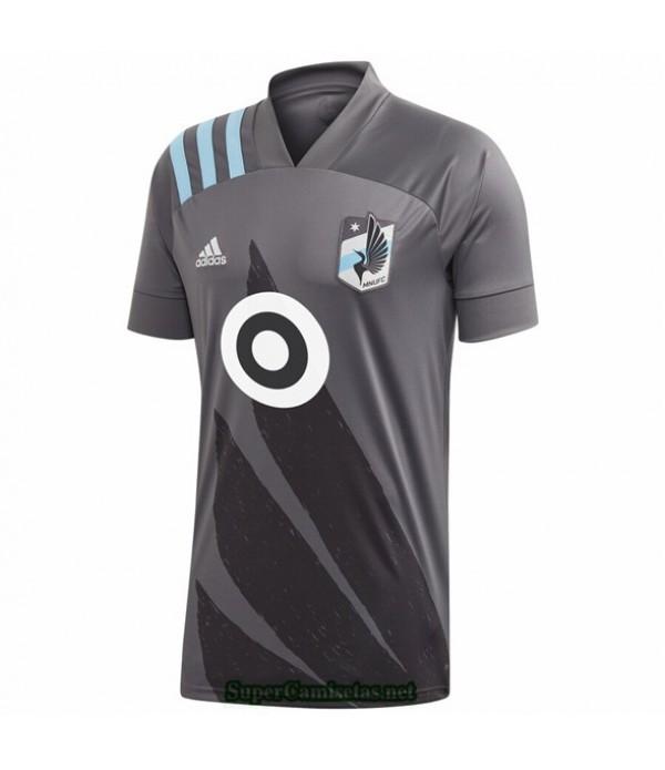 Tailandia Equipacion Camiseta Minnesota United Gris 2020/21