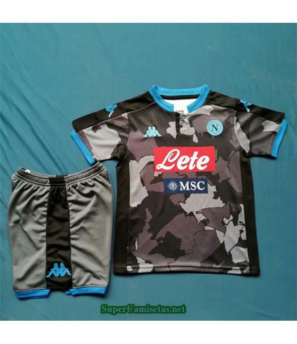 Tailandia Equipacion Camiseta Napoli Enfant Negro 2020/21