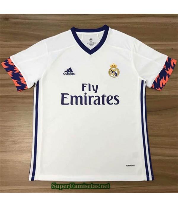 Tailandia Equipacion Camiseta Real Madrid Blanco 2020/21