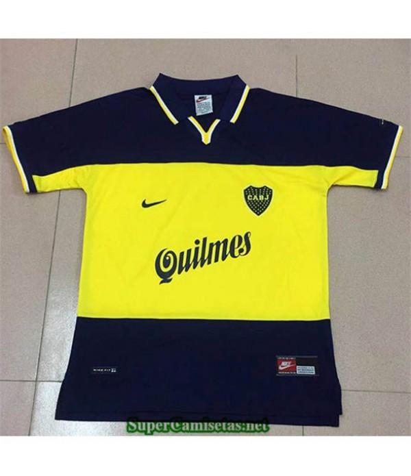 Tailandia Primera Camisetas Clasicas Boca Junior Hombre 1999