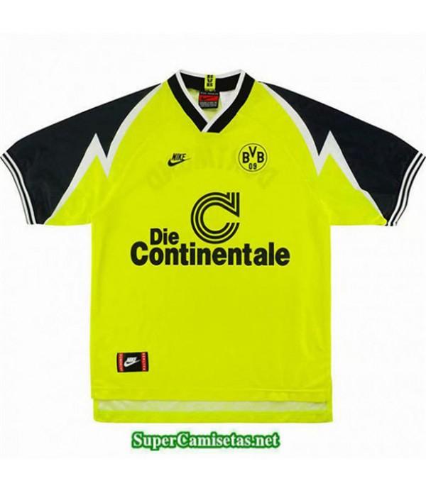 Tailandia Primera Camisetas Clasicas Borussia Dortmund Hombre 1995 96