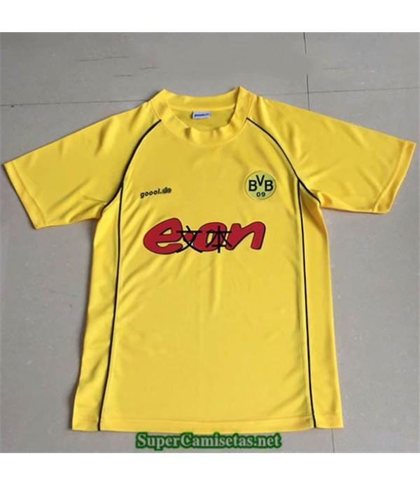 Tailandia Primera Camisetas Clasicas Hombre Borussia Dortmund 2002