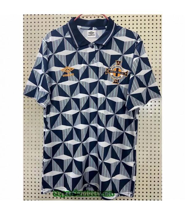 Tailandia Primera Camisetas Clasicas Irlanda Del Norte Hombre 1990 93