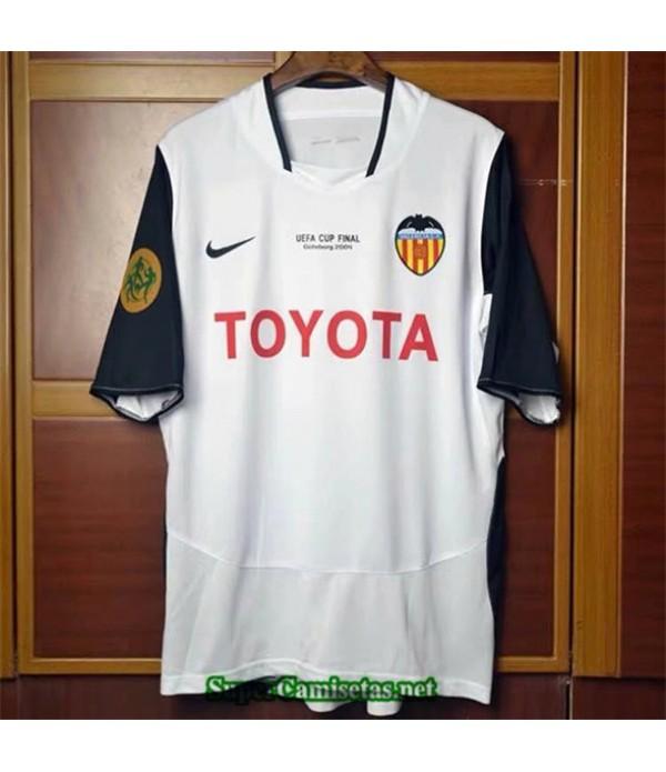 Tailandia Primera Camisetas Clasicas Valence Hombre 2003 04