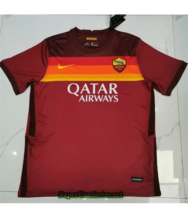 Tailandia Primera Equipacion Camiseta As Roma 2020/21