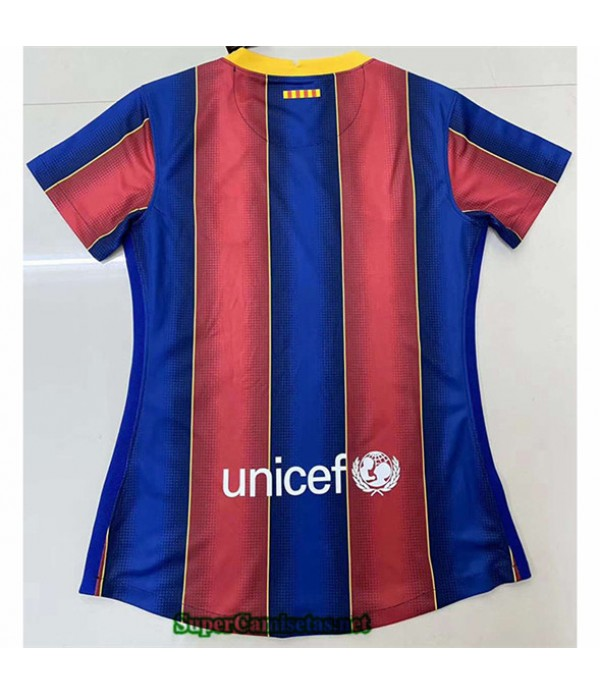 Tailandia Primera Equipacion Camiseta Barcelona Mujer 2020/21