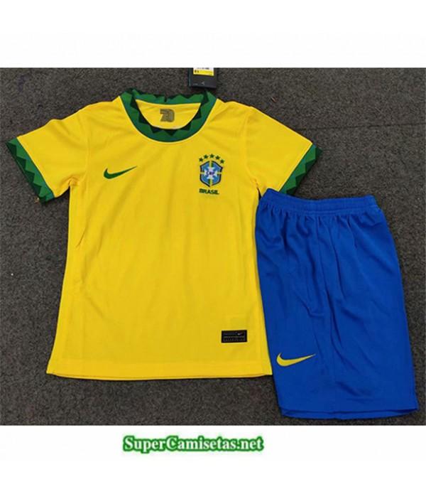 Tailandia Primera Equipacion Camiseta Brasil Niños 2020/21