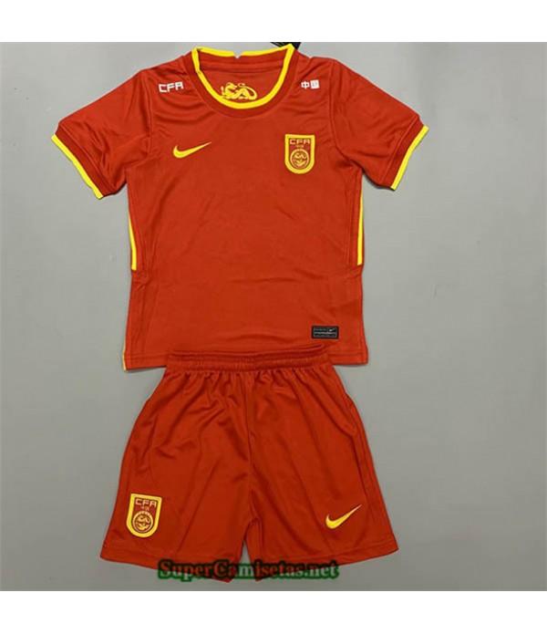 Tailandia Primera Equipacion Camiseta China Niños 2020/21