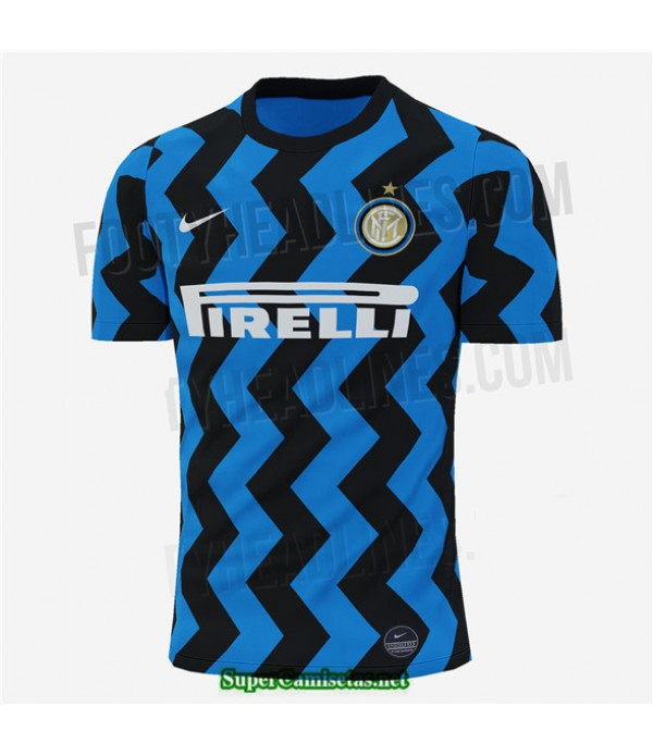 Tailandia Primera Equipacion Camiseta Inter Milan 2020/21