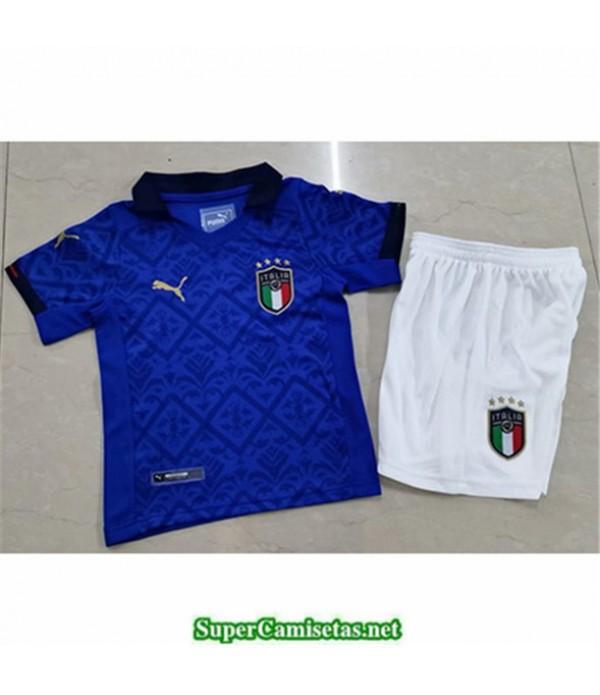Tailandia Primera Equipacion Camiseta Italia Niños 2020/21