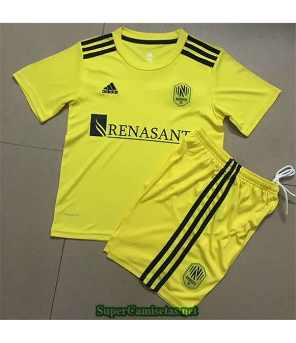Tailandia Primera Equipacion Camiseta Nashville Sc Niños 2020/21