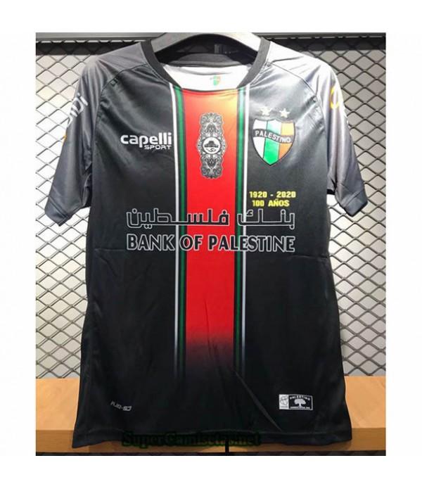 Tailandia Primera Equipacion Camiseta Palestina Negro 2020/21