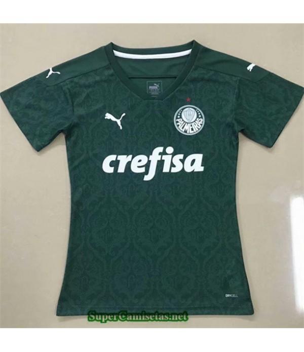 Tailandia Primera Equipacion Camiseta Palmeiras Mujer 2020/21