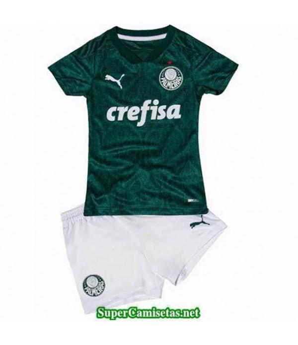 Tailandia Primera Equipacion Camiseta Palmeiras Niños 2020/21