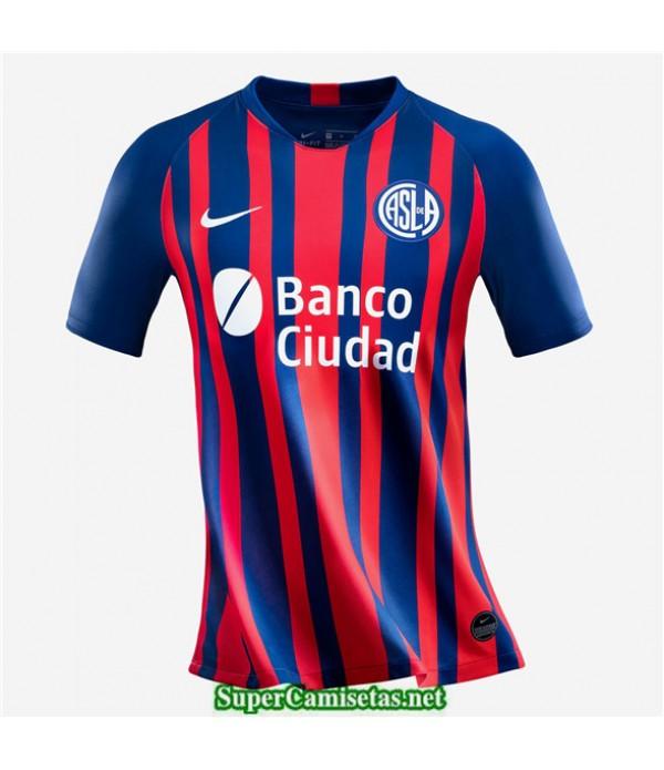 Tailandia Primera Equipacion Camiseta San Lorenzo 2020/21