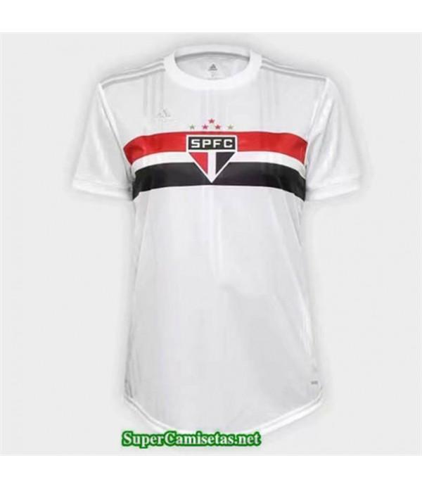Tailandia Primera Equipacion Camiseta Sao Paulo Mujer 2020/21
