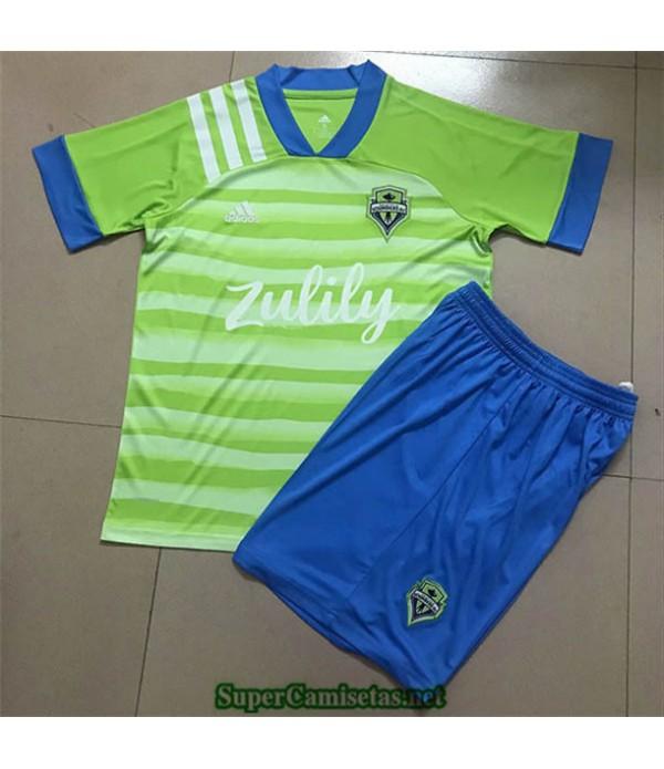 Tailandia Primera Equipacion Camiseta Seattle Sounders Niños 2020/21