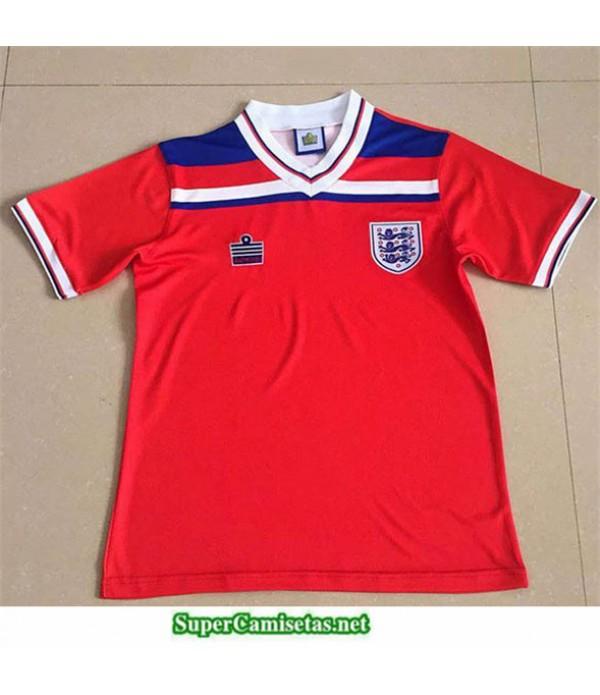 Tailandia Segunda Camisetas Clasicas Inglaterra Hombre 1980