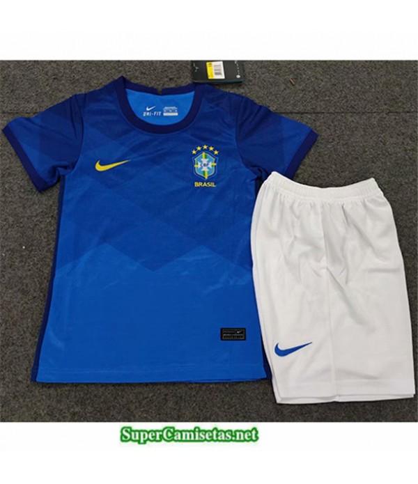 Tailandia Segunda Equipacion Camiseta Brasil Niños 2020/21