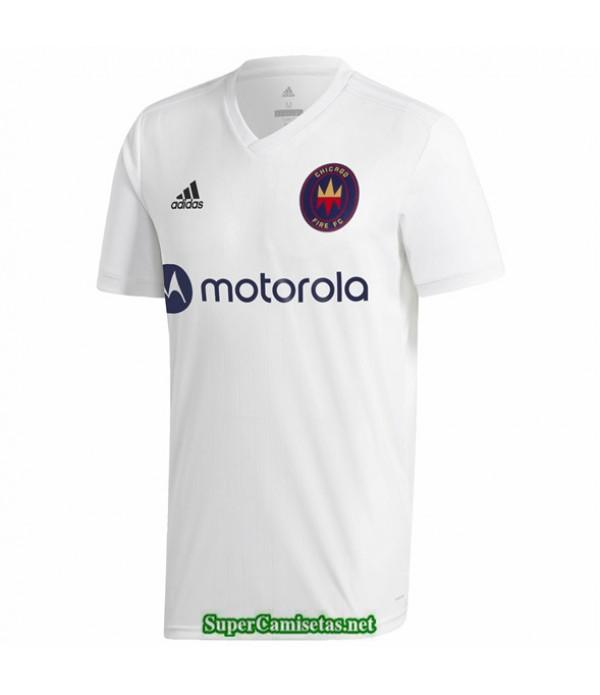 Tailandia Segunda Equipacion Camiseta Chicago Fire Blanco 2020/21