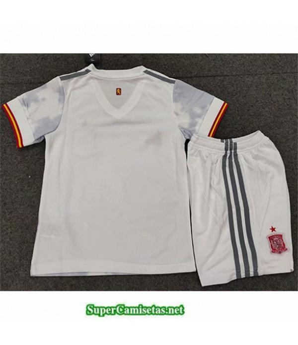 Tailandia Segunda Equipacion Camiseta España Niños 2020/21