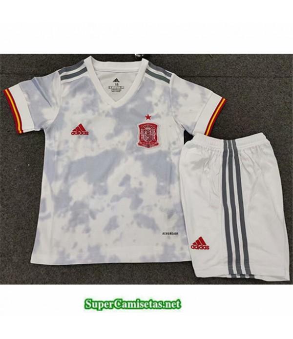 Tailandia Segunda Equipacion Camiseta España Niñ...