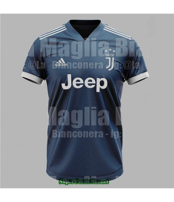 Tailandia Segunda Equipacion Camiseta Juventus 2020/21